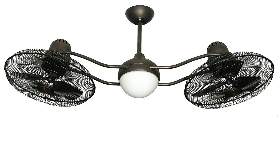 dual fan ceiling fans