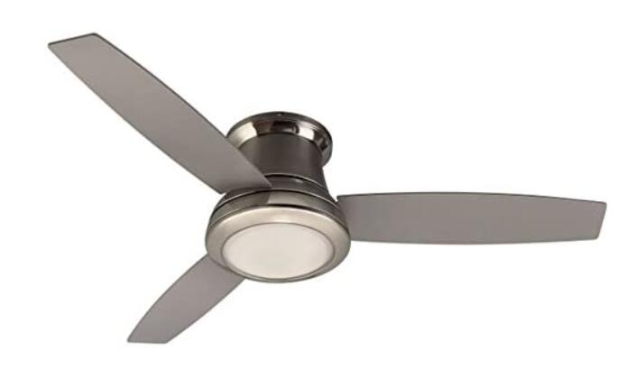 best flush mount ceiling fan with light and remote
