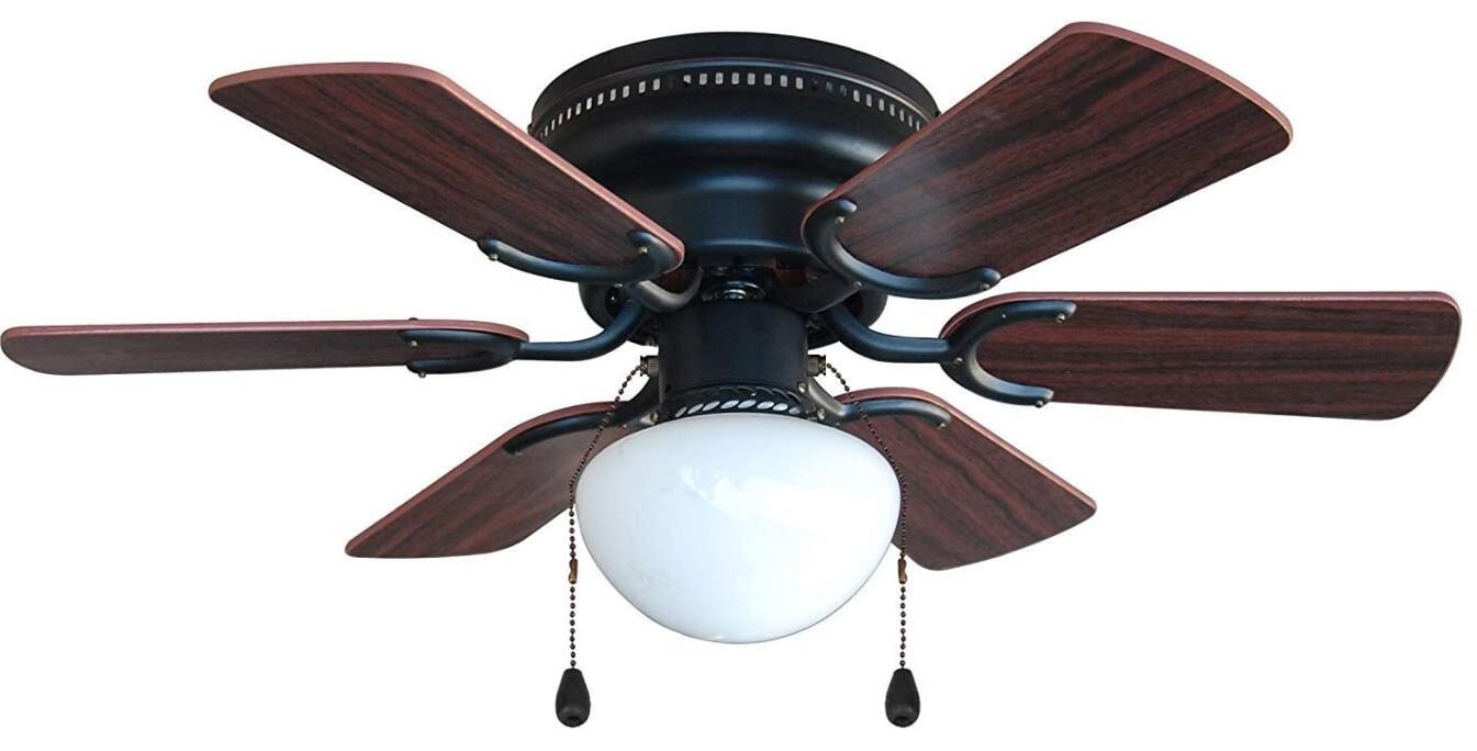 best flush mount fan with light