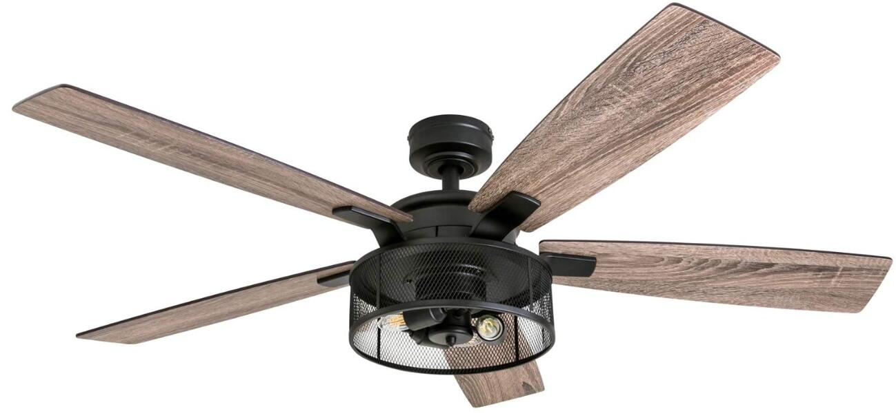 best living room fan with light