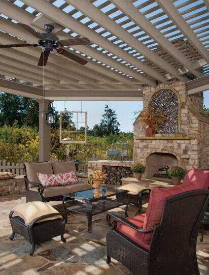the cost of installing an outdoor ceiling fan