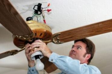 tighten the ceiling fan light fixtures