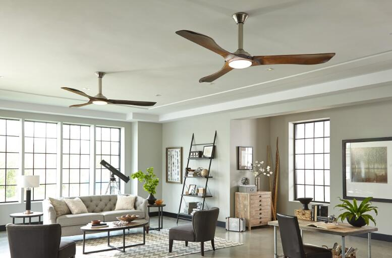 install two ceiling fans for a living room