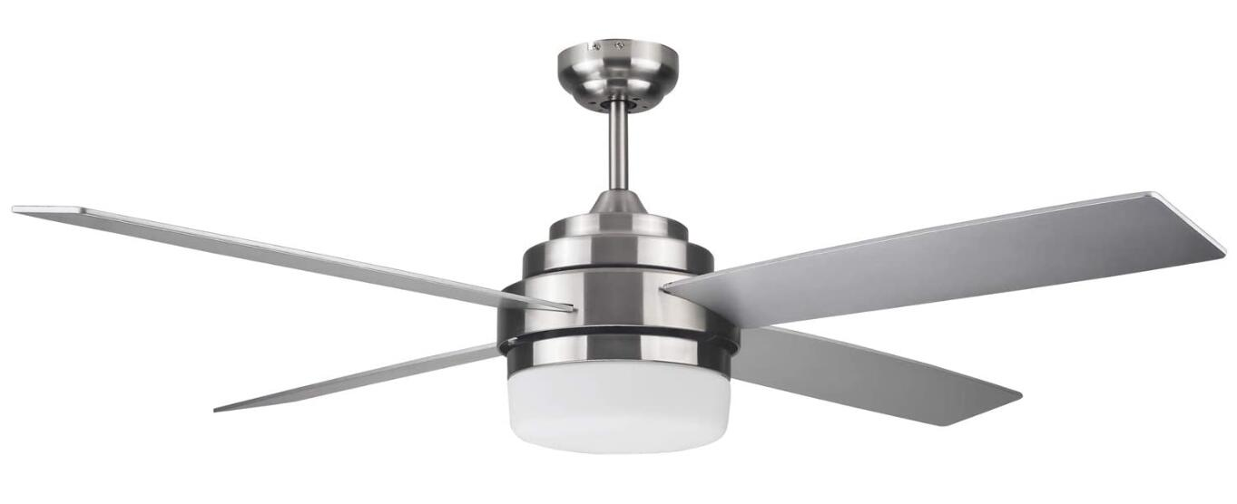 best white ceiling fan in living room