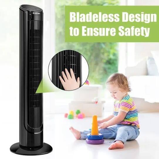 best affordable safe tower fan