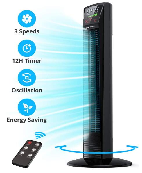 best affordable tower fan with remote
