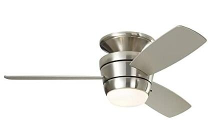best low profile ceiling fan with light and remote control