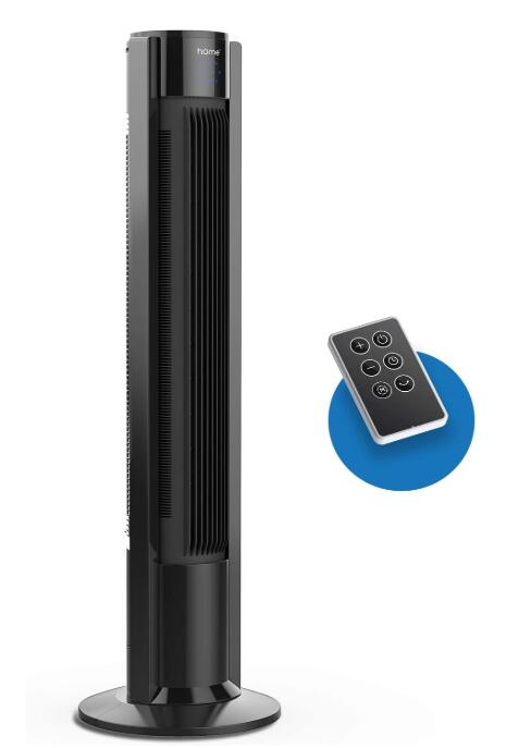 quiet tower fan with remote control