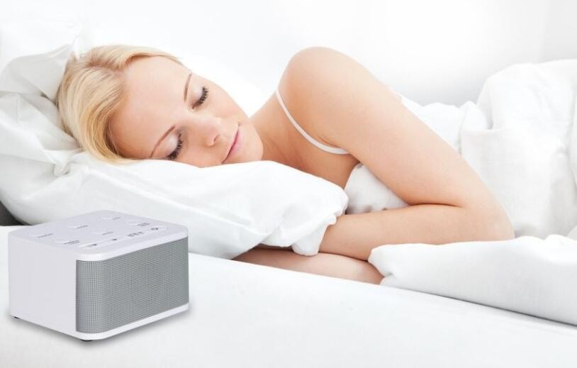 sleeping with white noise