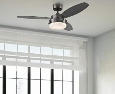 small bedroom ceiling fan with light
