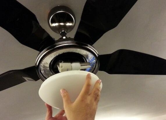 ways of installing bedroom ceiling fan with light