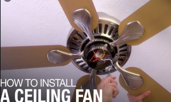 Step By Step Instructions On How To Install A Ceiling Fan