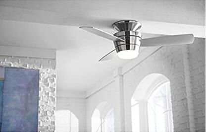 small room ceiling fan size