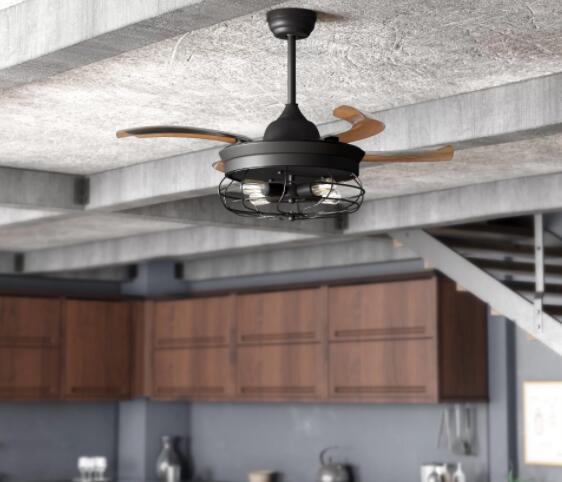 modern ceiling fans for kitchen