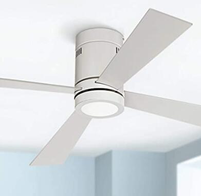 white ceiling fan for large homes