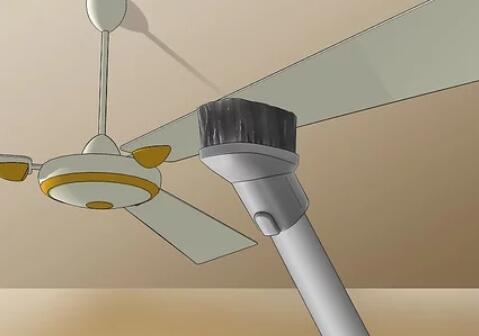 clean kitchen ceiling fans