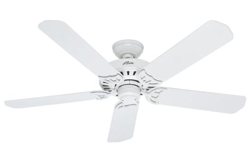 white long blade ceiling fans