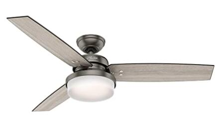 top rated ceiling fans with lights