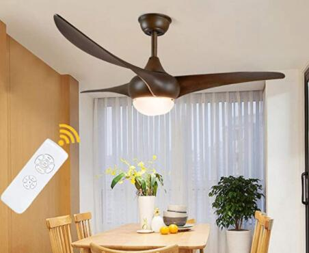 quietest ceiling fan with light