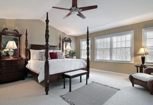 best large ceiling fan for master bedroom