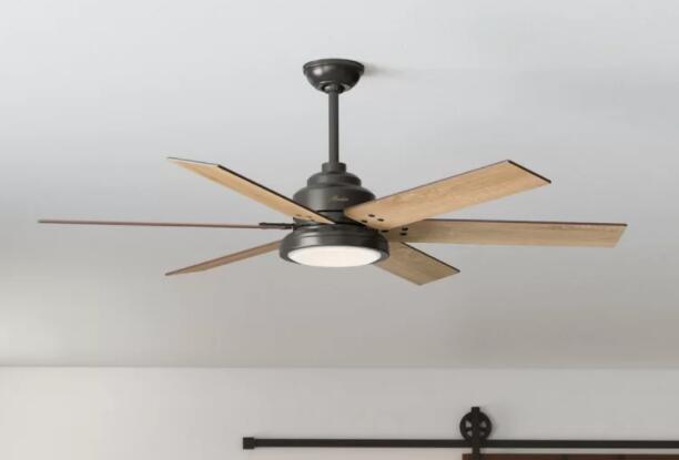 install low profile ceiling fan