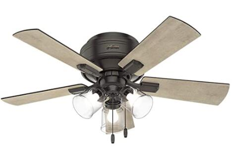 best small profile ceiling fan