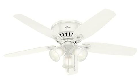 low profile ceiling fans with light