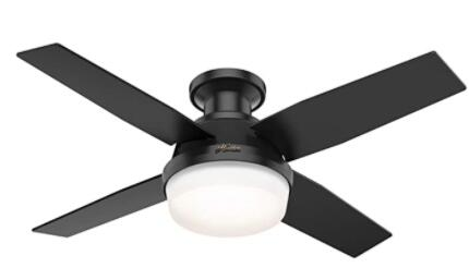 white ceiling fans with light