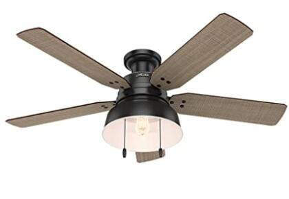 chain control low profile ceiling fans
