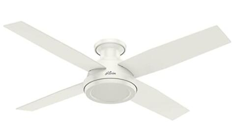 compact low profile ceiling fan