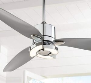 chrome ceiling fans without lights