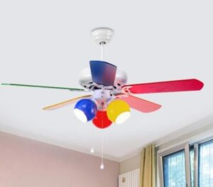 5 blade ceiling fan with remote